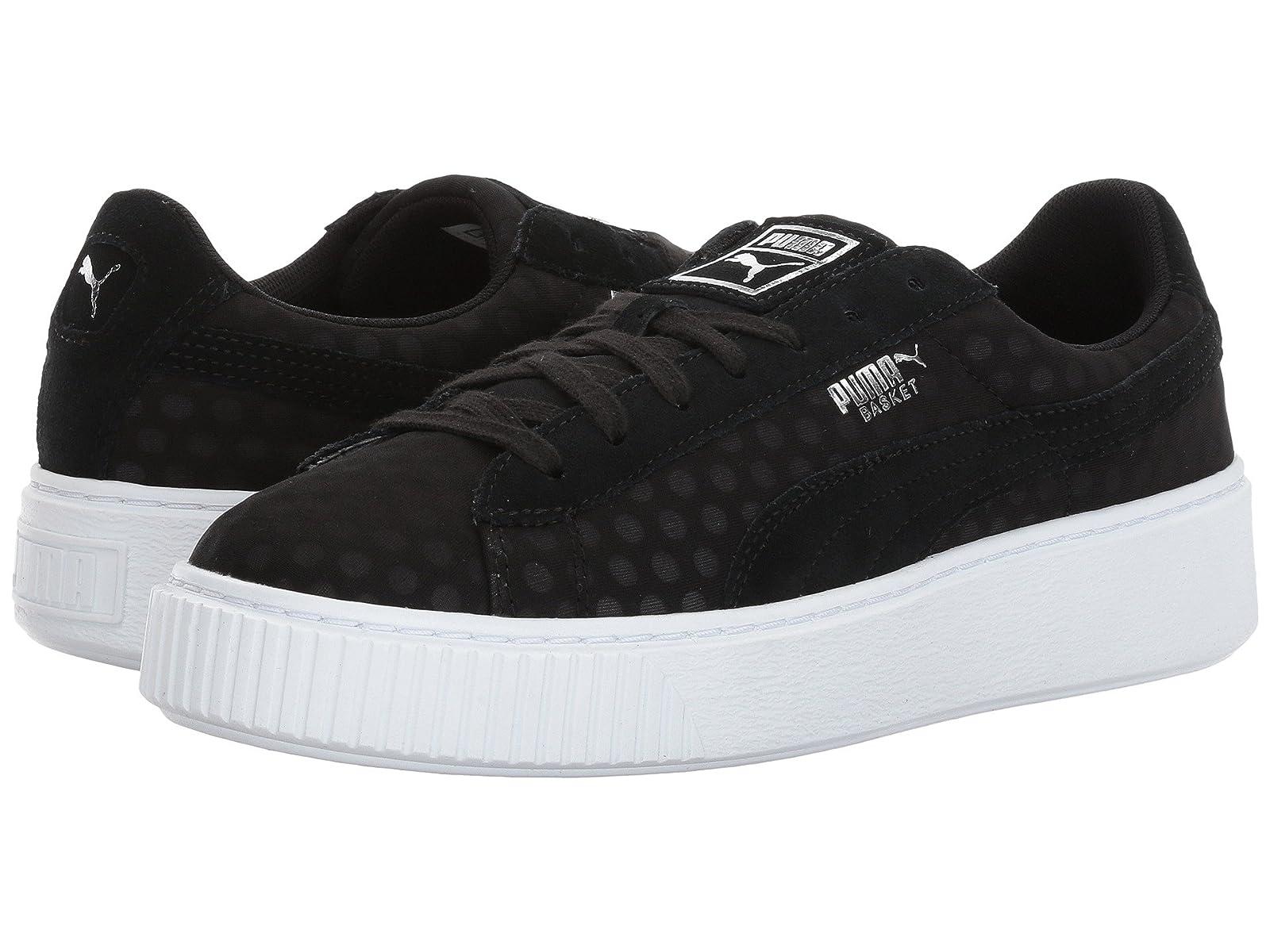 PUMA Basket Platform DenimCheap and distinctive eye-catching shoes