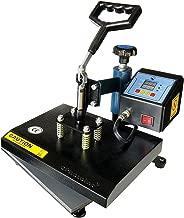 ePhotoInc Swing Away 9 x 12 T Shirt Heat Press Machine Transfer Sublimation Press ZP9BU