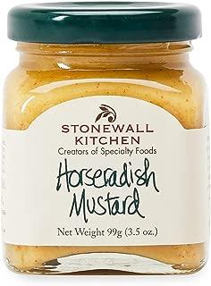Stonewall Kitchen Mini Horseradish Mustard, 3.5 oz.