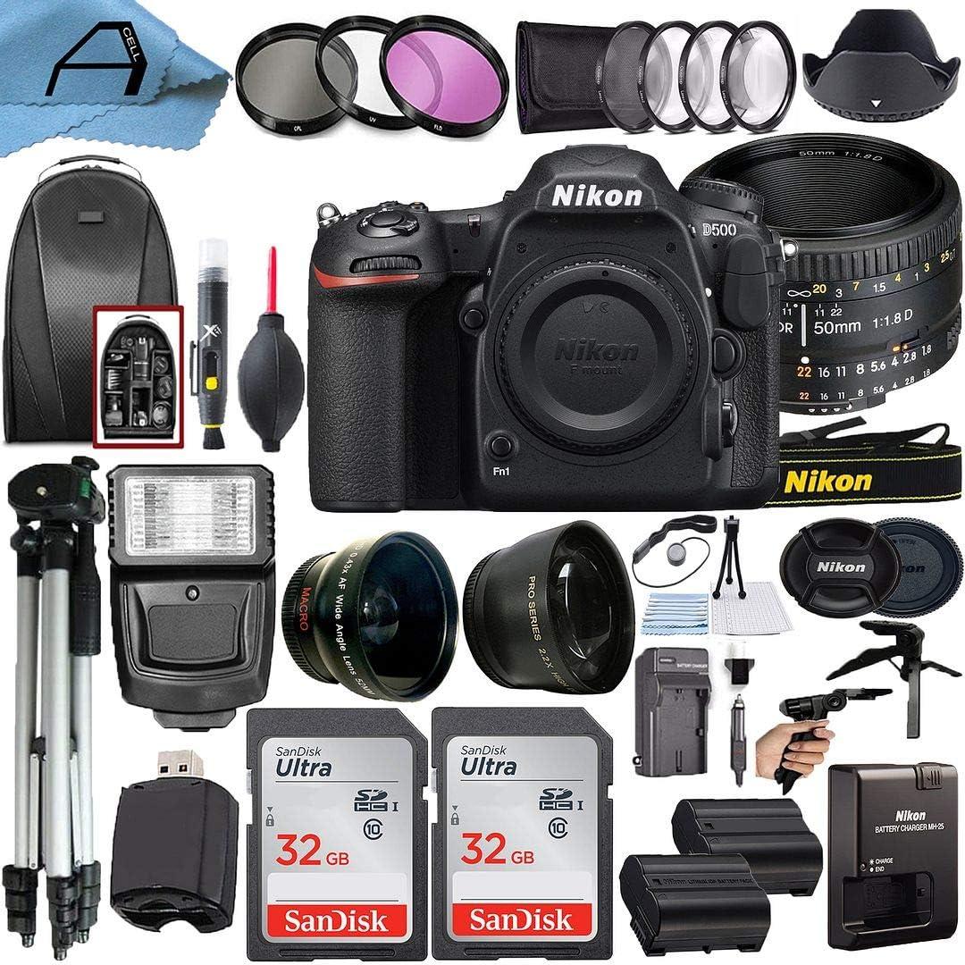 Nikon D500 DSLR Ranking TOP11 Camera 20.9MP CMOS with 50mm Sensor Award NIKKOR FX AF