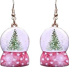 Best snow globe earrings Reviews