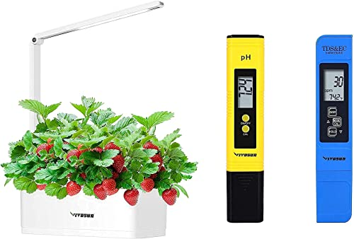 popular VIVOSUN Hydroponics discount Growing System and PH and high quality TDS Meter Combo online