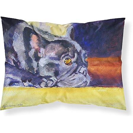 Carolines Treasures BB1803PILLOWCASE Halloween Doberman Fabric Standard Pillowcase Large Multicolor