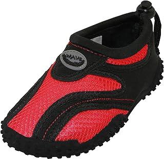 Cambridge Select Toddler's Quick Dry Slip-On Mesh Drawstring Non-Slip Water Shoe (Toddler)