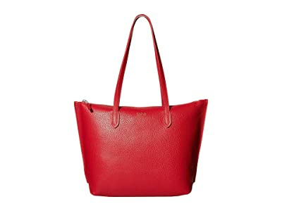 Furla Luce Medium Tote (Fragola) Handbags