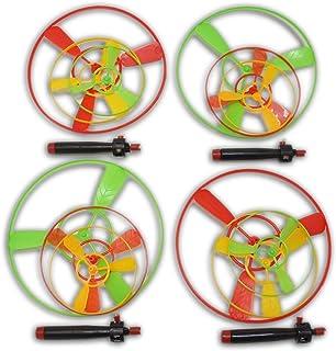 Holz Kreisel Spielzeug Handarbeit Bemalt Mini-Kreisel Helps Fokussierung Fidget Toy Fokus Spielzeug F/ür Kinder Und Erwachsene Gelegentliche Farbe 1PC
