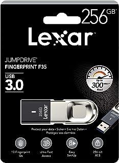 Lexar JumpDrive Fingerprint F35 256GB USB 3.0 Flash Drive