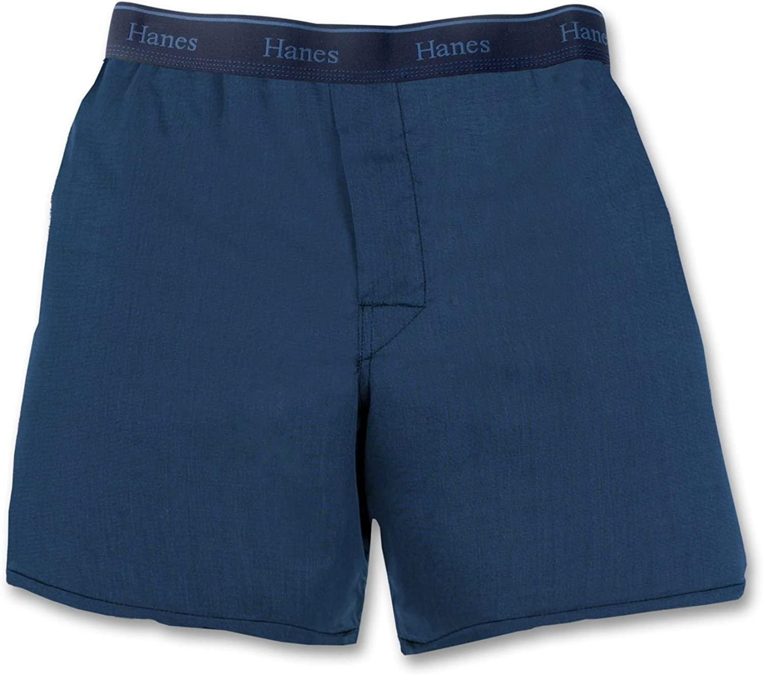 Hanes Big Boys' Yarn Dyed Boxer (Pack of 3)