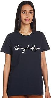 Tommy Hilfiger Women's HERITAGE CREW NECK GRAPHIC TEE T-Shirt