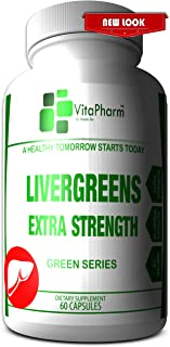 LIVERGREENS | Advanced Liver Care Rescue. 20+ Herbal Extracts. Alcohol Detox. Liver Detoxifier and Regenerator. Aids Side Effects of Alcohol Intake and Hangover. with Milk Thistle. Aids Post Cycle
