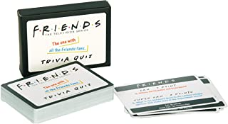 Paladone PP6444FR Friends TV Show Trivia Quiz 2nd Edition Game, 50 Cards with 100 Easy and Super Hard Questions