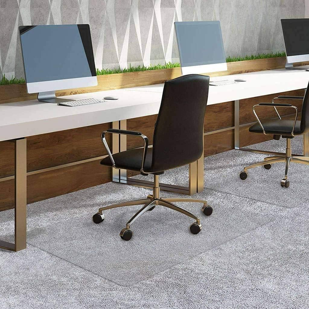 antideslizante Zinn transparente Alfombrilla de protecci/ón para el suelo antiara/ñazos alfombrilla de oficina