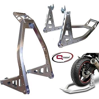 Ryde Support Paddock Avant de Moto en Aluminium Noir