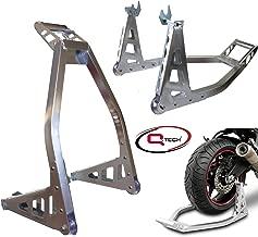 Qtech Motorrad Bike VORDERRAD ST/ÄNDER Gabel St/änder mit Anschlussstiften universelle Passform strapazierf/ähige Ausf/ührung mit Rollen zum Anheben 160/kg Hubkapazit/ät