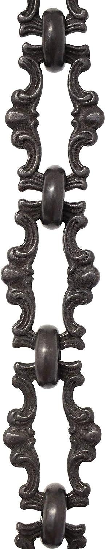 Bronze 3 Feet RCH Hardware CH-02-BRZ-3 Brass Chandelier Chain