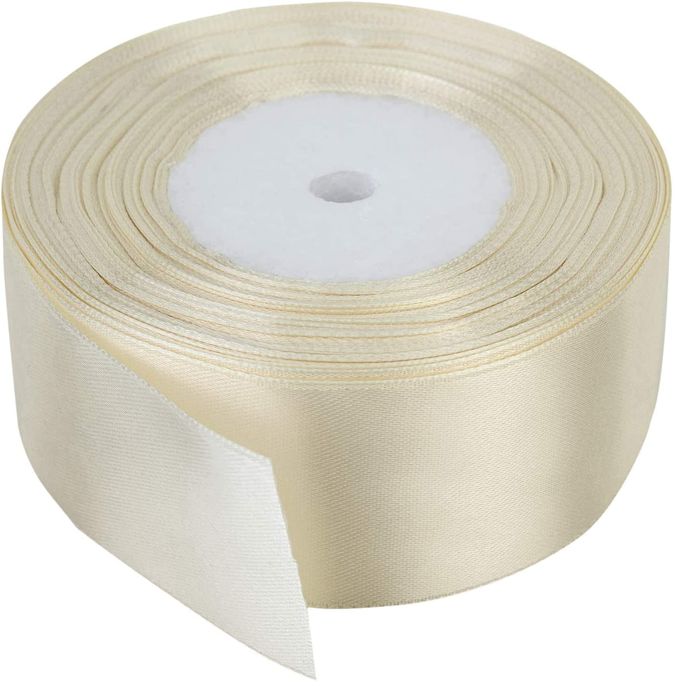 Lavable en Machine pour Emballage-Cadeau D/écoration Trimming Shop Rouleau Complet Ruban 40mm X 25 M/ètres /à Double Face Satin Couleurs Vives Arts et Loisirs Cr/éatifs 100/% Polyester