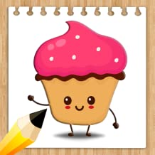 How to draw CupCake Step by Step