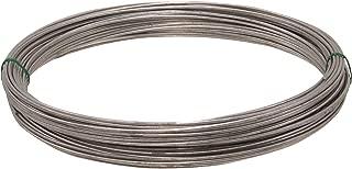 Hillman 122065 Galvanized Solid Wire 14 Gauge 100 Ft Coil