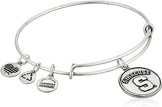 Alex and Ani Syracuse University Logo Expandable Bangle Bracelet