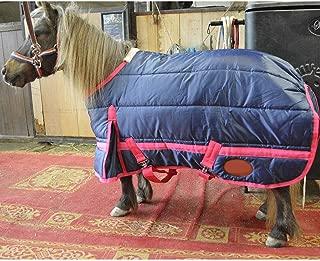 Manta De Caballo Manta Protectora para Caballos, Lindo Pony Coat Pequeño Pony Horse Room Cálido Y Grueso Arnés De Otoño E Invierno