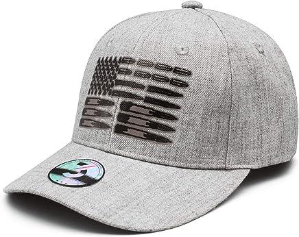 b9bf73d8 lsawdas Ammo Flag Woolen Peak Cap Snapback Hat Vintage Snapbacks