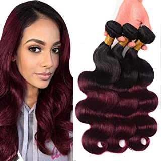 Best burgundy dyed weave Reviews