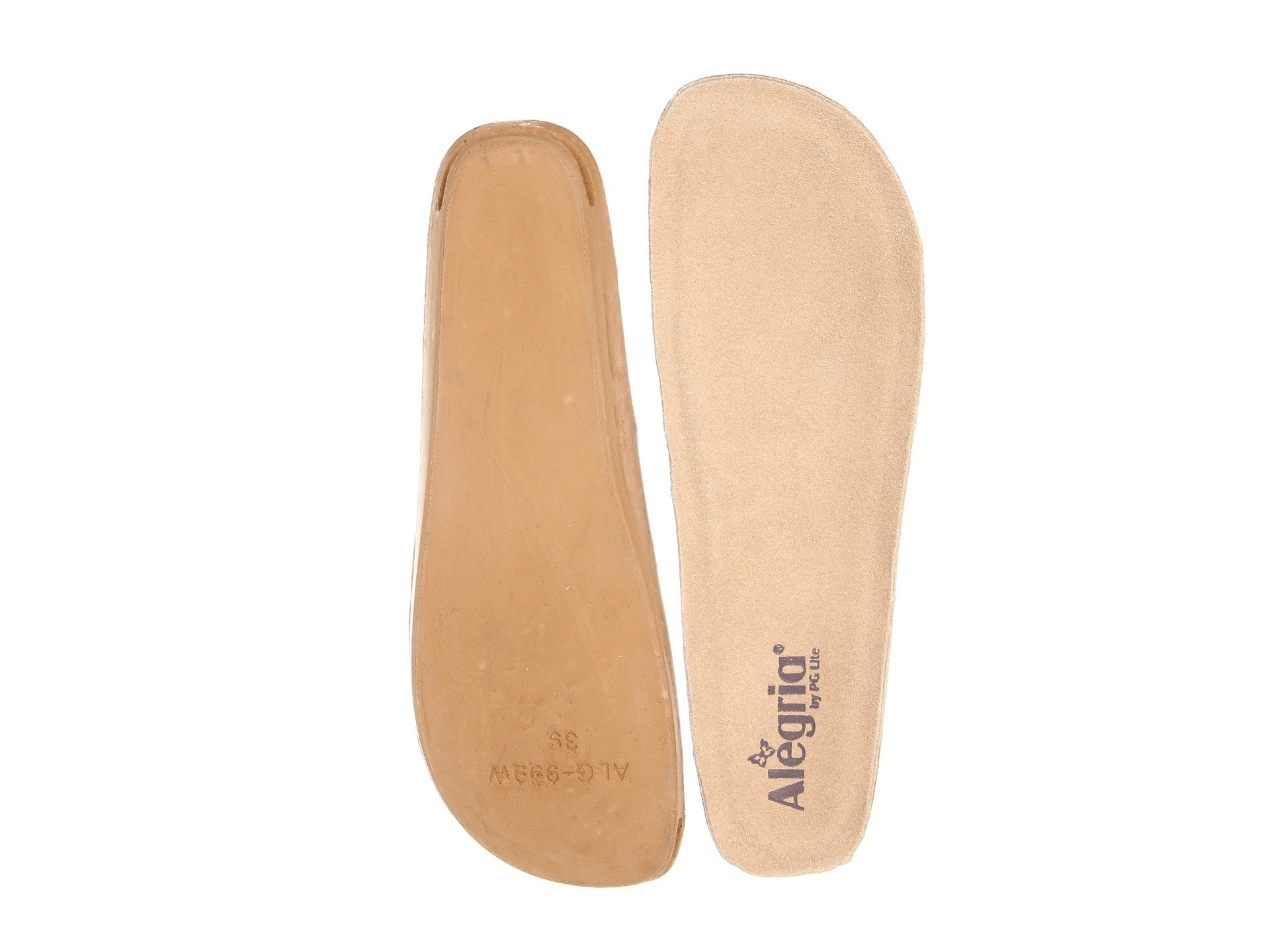 Wide Insole Wide Alegria Alegria Replacement Replacement Insole Tan xnPwSn