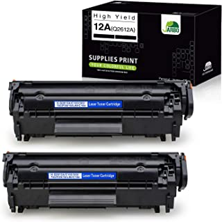 JARBO Compatible Toner Cartridges Replacement for HP 12A Q2612A, Use with Laserjet 1020..