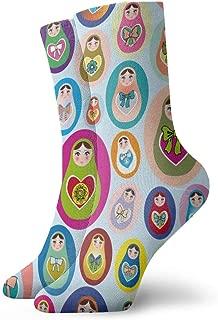 Unisex Socks Russian Nesting Doll Fashion Novelty Dry Sports Socks
