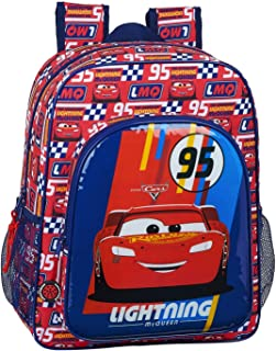 612011640 Mochila Junior Adaptable Carro Cars, Multicolor