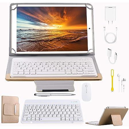 Tablets P9 10.1 Pulgadas Full HD, Android 9.0 WiFi/4G/OTG, 4GB RAM + 64GB ROM, Quad-Core 8MP Cámara Tablet PC 8000mAh Batería Moviles Baratos y Buenos ...