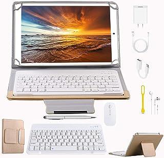 Tablets P9 10.1 Pulgadas Full HD, Android 9.0 WiFi/4G/OTG, 4GB RAM + 64GB ROM, Quad-Core 8MP Cámara Tablet PC 8000mAh Bate...