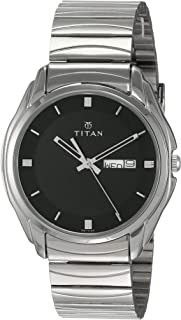 Titan Karishma Analog Black Dial Men's Watch NK1578SM04 / NK1578SM04