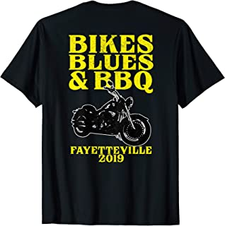Motorcycle Rally Trip Bikes Blues BBQ Fayetteville Arkansas T-Shirt