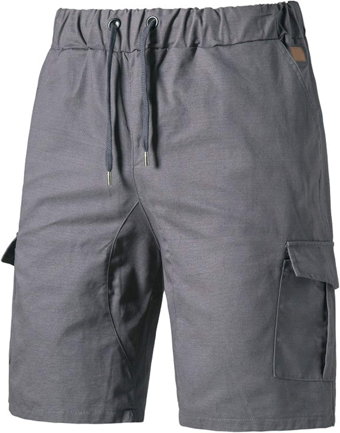 WEHOMEO Cargo Shorts for Men, Relaxed Fit Work Shorts,Gray,XXL