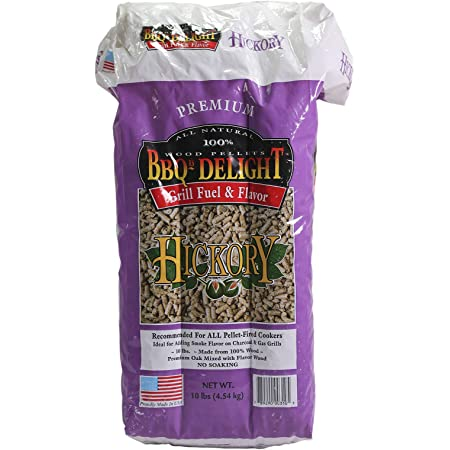 Bbq Wood Pellets Grill Lb Smoker Smoking Delight Pellet Barbecue