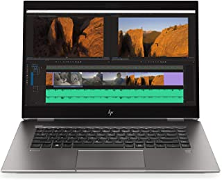 "HP ZBook Studio G5 15.6"" Mobile Workstation Laptop - Intel Core i7 (9th Gen) i7-9850H Hexa-core (6 Core) Up to 4.60 GHz - 32 GB DDR4 – 1TB NVME SSD – Nvidia Quadro P2000 4GB - Windows 10 Pro, Silver"