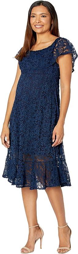 Lucia Lace Off-the-Shoulder Dress