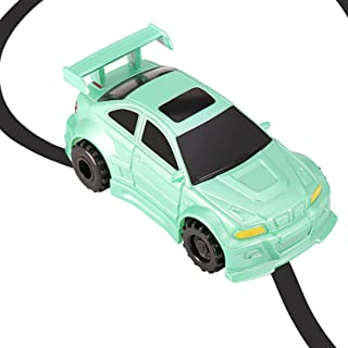 Etpark Magic Inductive Toy, Magic Inductive Car Tank Truck Toy with Marker Pen, Move Following Any Drawn Line for Pre-School Learning and Children (Green Car)