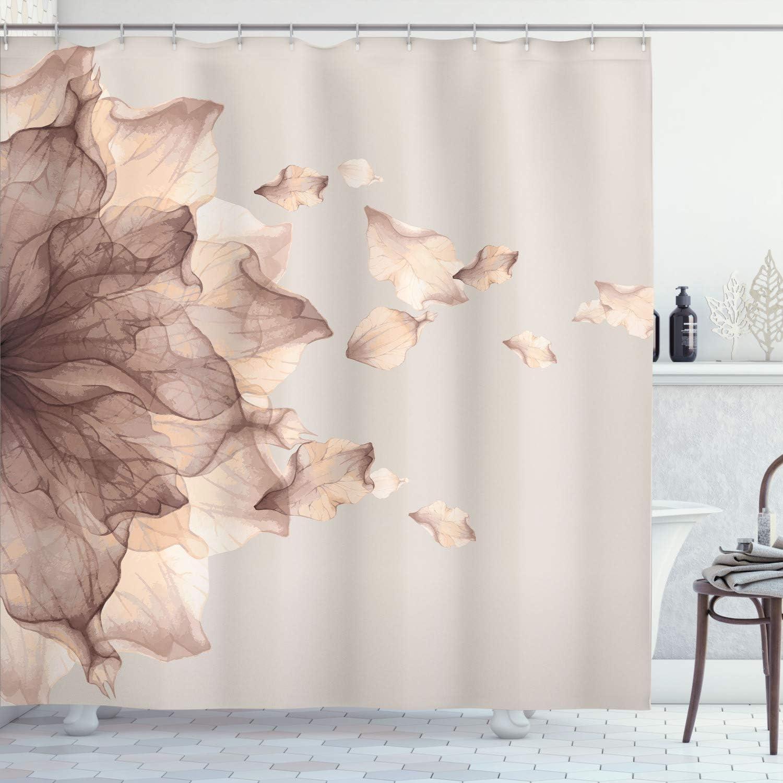 Ambesonne Flower Shower Curtain 販売 Abstract 新作からSALEアイテム等お得な商品満載 Futurist Themed Modern