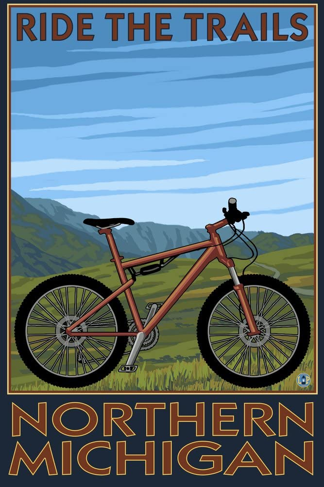 Northern Cash special price Michigan - Ride the 36x54 Giclee Gallery Super special price Print Trails