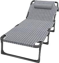 Ligstoelen Liggend Campingstoelen voor Volwassenen Zware, Outdoor Verstelbare Fauteuil Stoel voor Patio Strand Zwembadzijd...