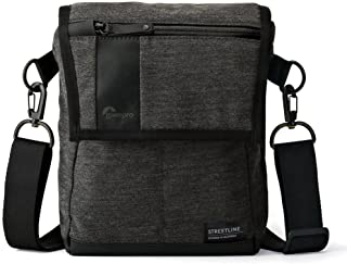 Lowepro Streetline Sh 120 Compact and Protective, Urban-Style Shoulder Bag Designed to Protect A Tablet, Personal Items, and Gear Like A Mirrorless Camera, Black, (LP36943-PWW)