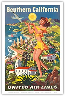 Best vintage united airlines poster Reviews