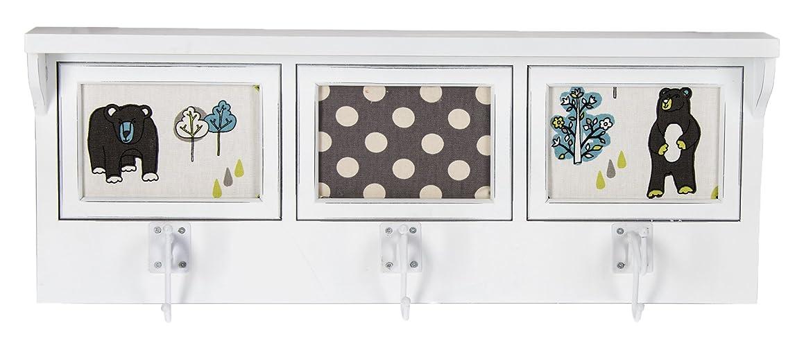 Glenna Jean North Country Photo Hanger Shelf, White