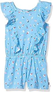 فستان عملي بكشكشة رومبير للفتيات من نوتيكا