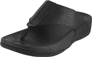 Mochi Men Black Leather Thong (16-9116)