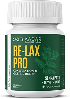 AADAR RELAX PRO | For Fast Constipation Relief and Gastric Troubles | Helps in Indigestion and Regulates Bowel Movement | ...