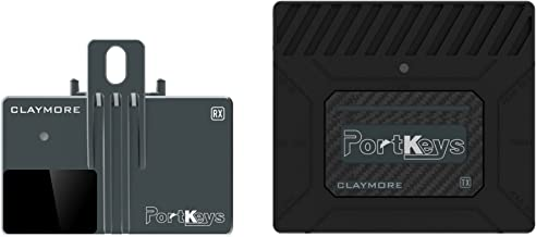PortKeys 60GHz Wireless Video Short Distance Transmission SDI/HDMI Broadcast Transmitter/Receiver Supports Full HD 1080P,Compatible with All Brands Gimbal and Stabilizer