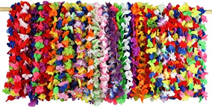 Lei Assortment (52 Pack), Luau Party Accessories, Party Favors and Handouts, Luau Party Supplies